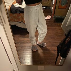 Joah Brown oversized joggers pearl grey XS/S